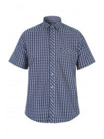 Mens Stripe Short Sleeve Shirt
