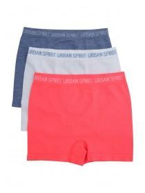 Younger Boys 3PK Red Seamfree Boxers