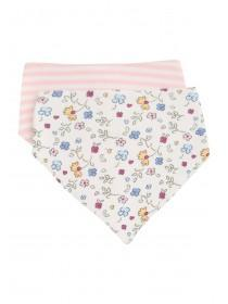 Baby Girls 2PK Floral Dribble Bibs