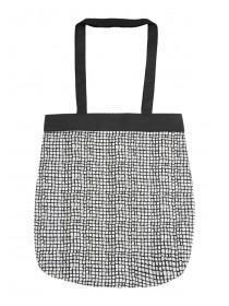Womens Black Shopper Bag