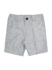 Younger Boys Formal Grey Shorts