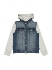 Older Boys Hooded Denim Jacket