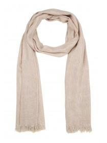 Womens Pale Pink Plain Scarf