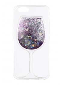 Purple Wine Glass iPhone Case