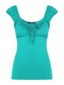 Jane Norman Green Gypsy Top