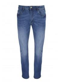 Mens Dark Blue Straight Jeans
