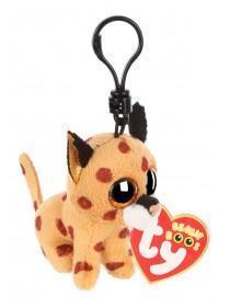 TY Beanie Baby Boo Clip - Buckwheat the Lynx