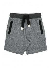 Younger Boys Grey Jogger Shorts