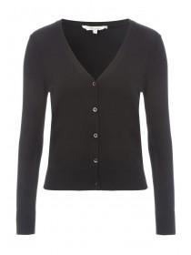 Womens Short Cuff Button Cardigan